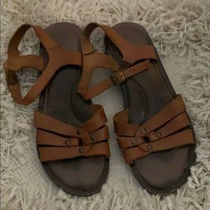 Well loved most comfy sandals